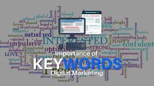 Importance of Keywords in Digital Marketing