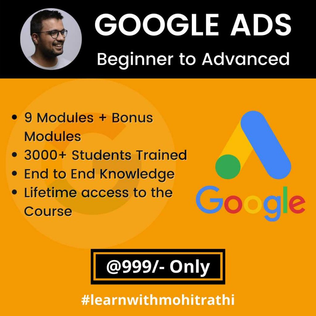 Google Ads Course