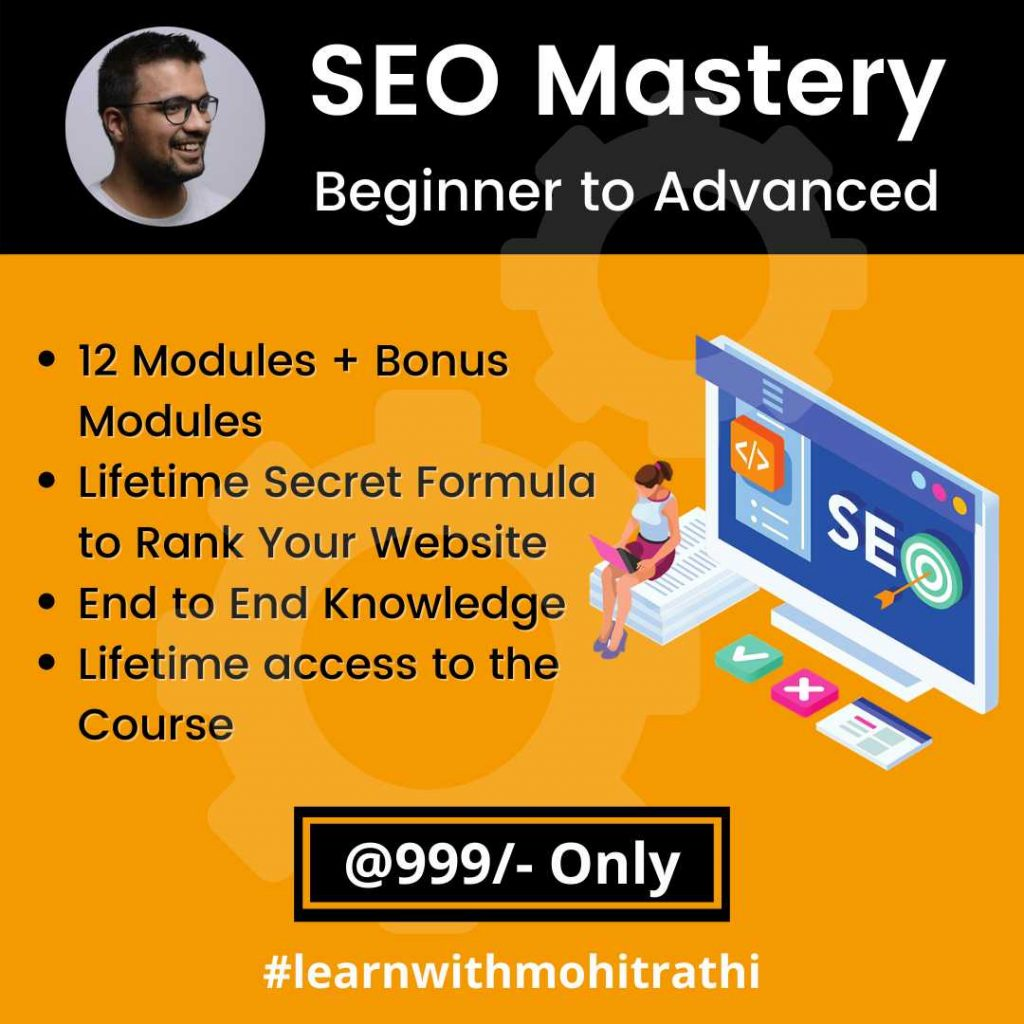 Beginner to Advanced SEO Course