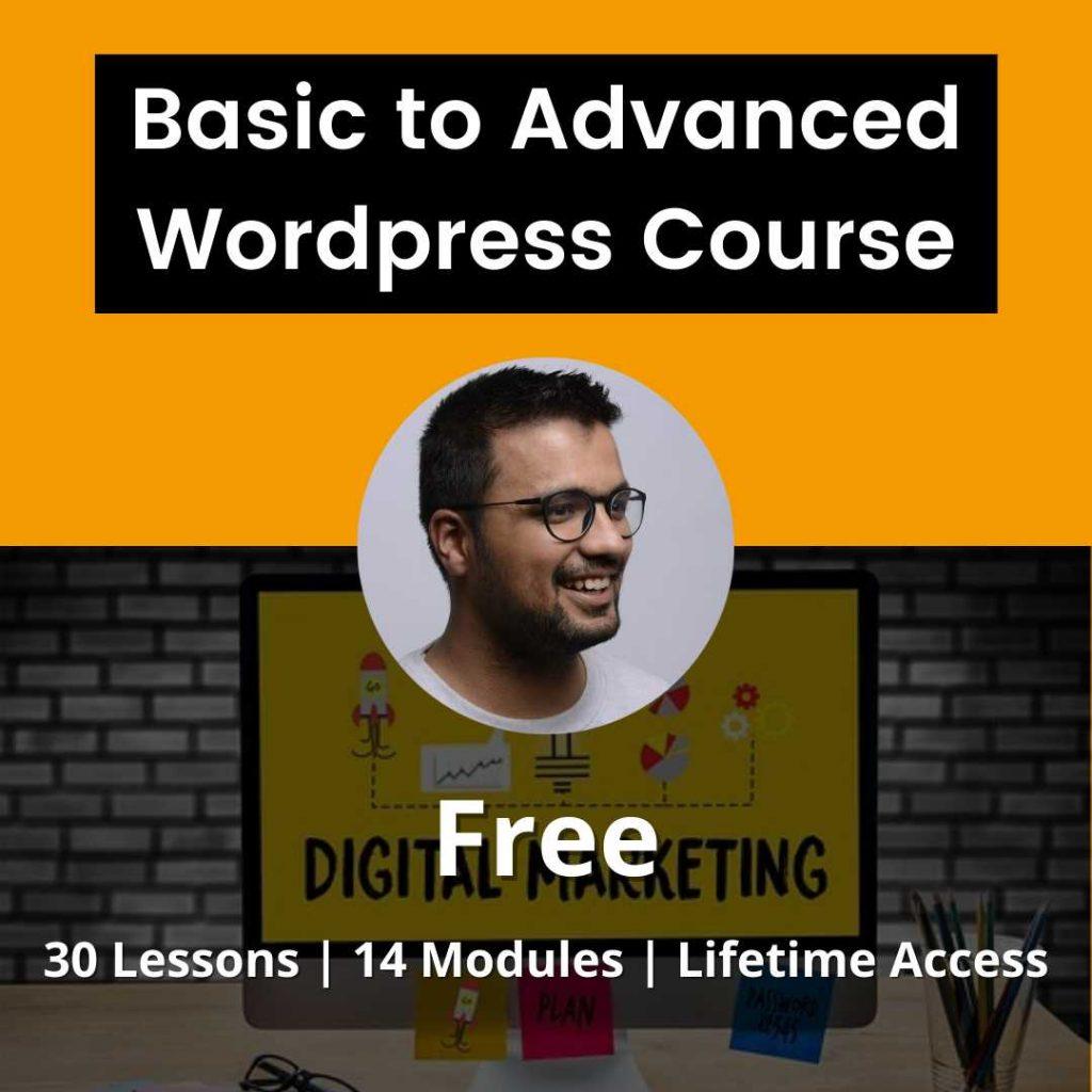 beginner to advanced wordpress