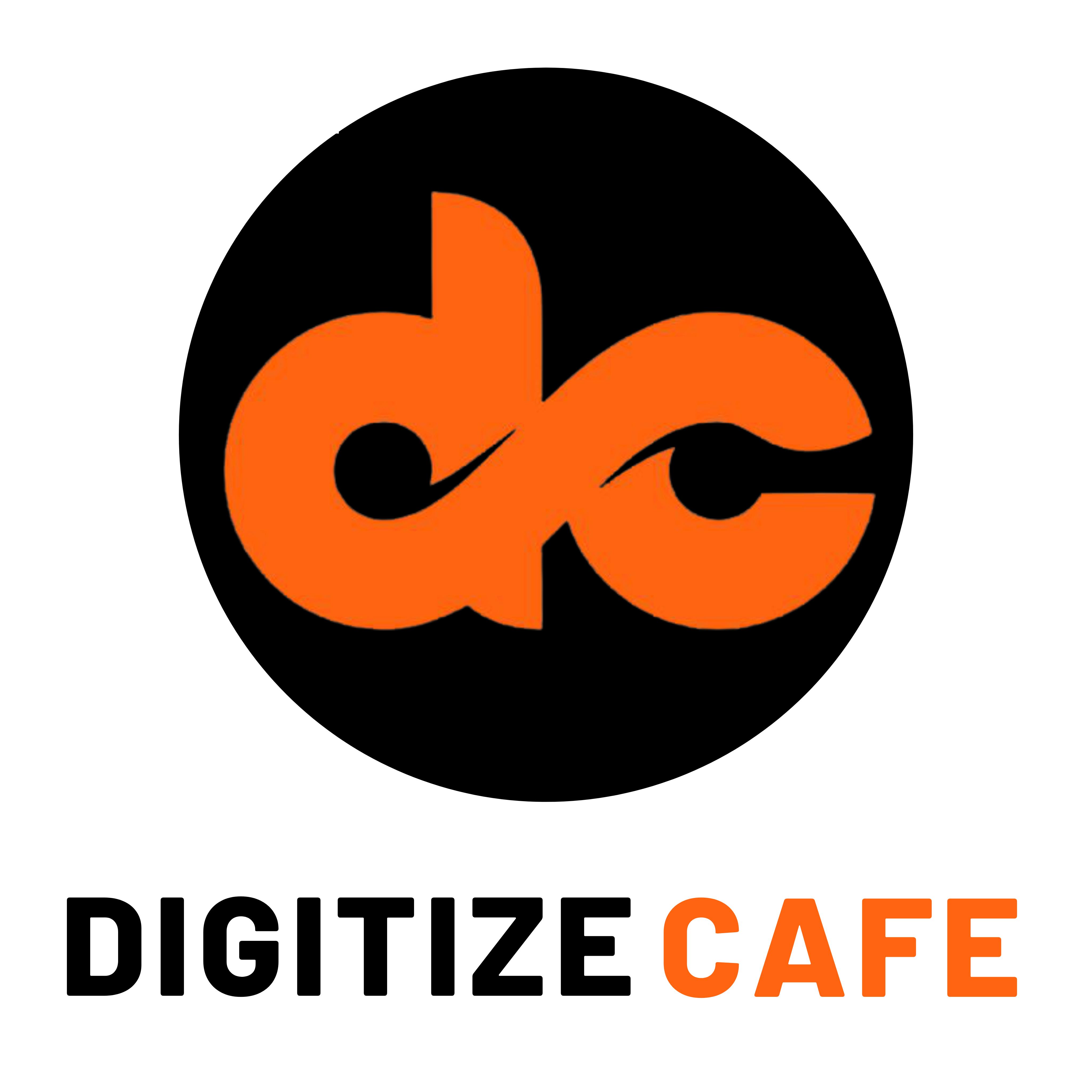 digitize cafe logo